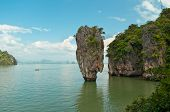 pic of james bond island  - James Bond island in province Phang Nga Thailand - JPG