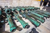 picture of artillery  - MOSCOW  - JPG