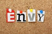 stock photo of envy  - The word Envy - JPG