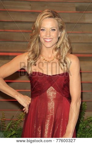 LOS ANGELES - MAR 2:  Sheryl Crow at the 2014 Vanity Fair Oscar Party at the Sunset Boulevard on March 2, 2014 in West Hollywood, CA