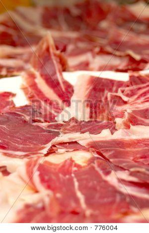 Iberian pig's ham