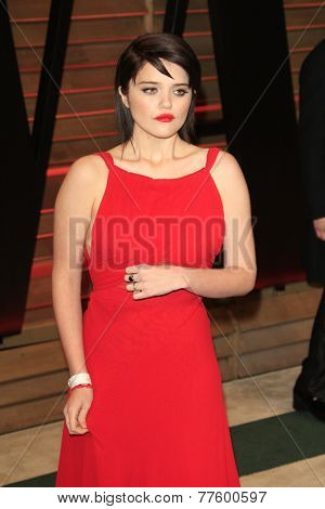LOS ANGELES - MAR 2:  Sky Ferreira at the 2014 Vanity Fair Oscar Party at the Sunset Boulevard on March 2, 2014 in West Hollywood, CA