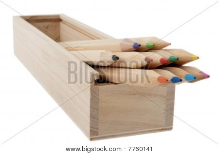 My Old Wooden Pencil Box