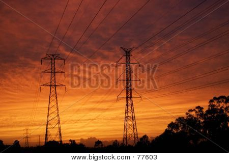 Dawn Pylons