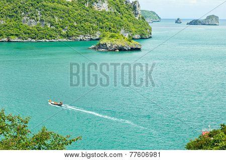 Beautiful Tropical Island, Near Koh Samui, Thailand