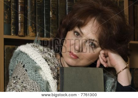 Portrait Of A Woman Librarian