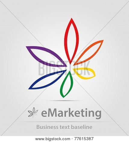 E-marketing Business Icon