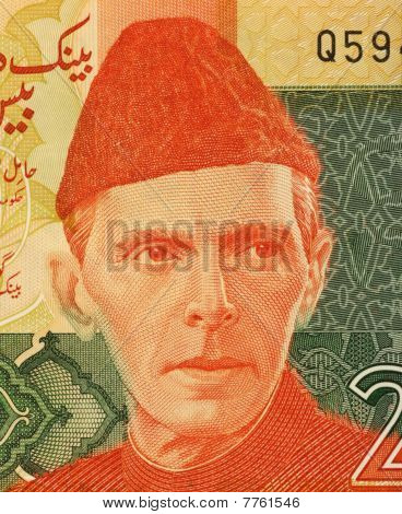Pakistan - ca. 2007: Mohammed Ali Jinnah