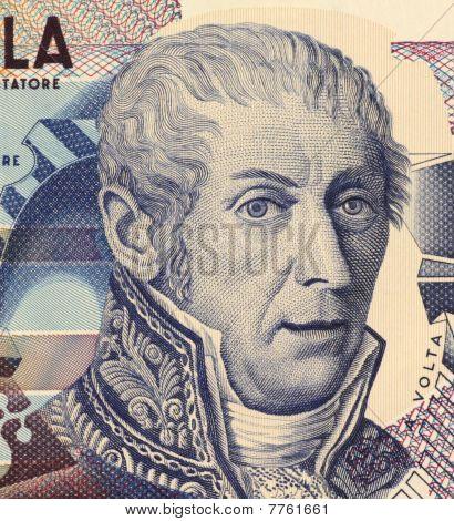 ITALY - CIRCA 1984: Alessandro Volta