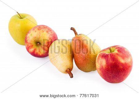 Fresh Fruit Vitamin Concept