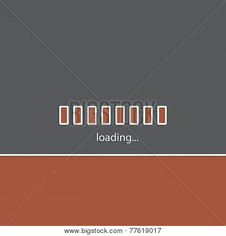 Simple Website Loading Bakground Design