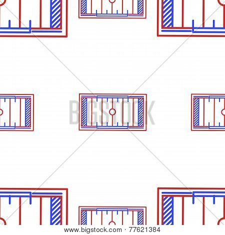 Vector background for American football. Yardage Field