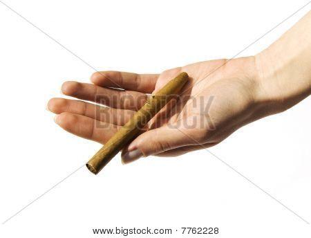 Abhängigkeit von Tabak