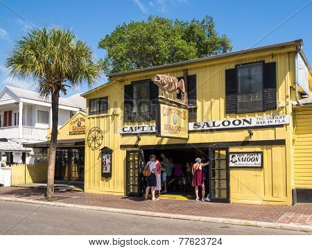 Captain Tonys Saloon In Key West