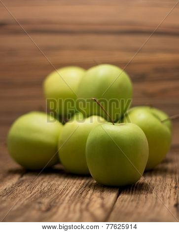 Heap Of Green Apples