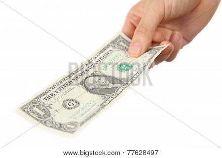 pay a U.S. 1 doller