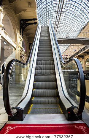 Escalator In Gum