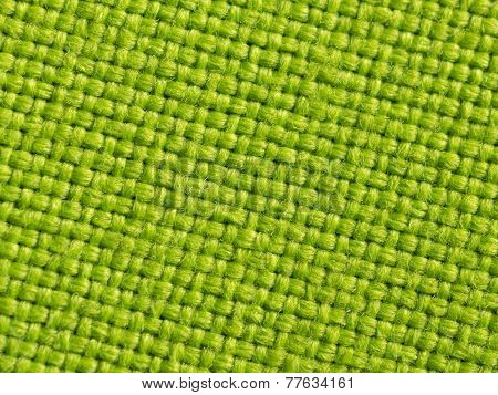 Green Material Background