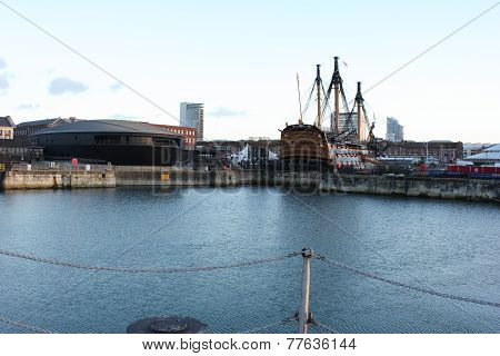 The Mary rose and HMS Victory