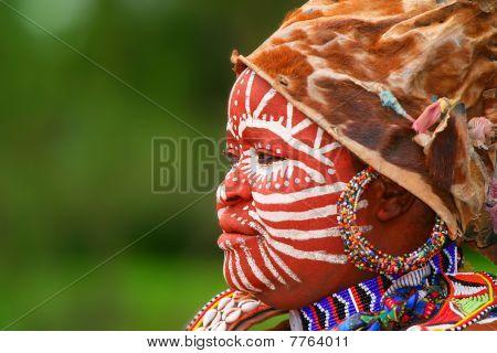 Mujer africana AFRICA, KENYA, NAKURU, 09 de noviembre de 2008