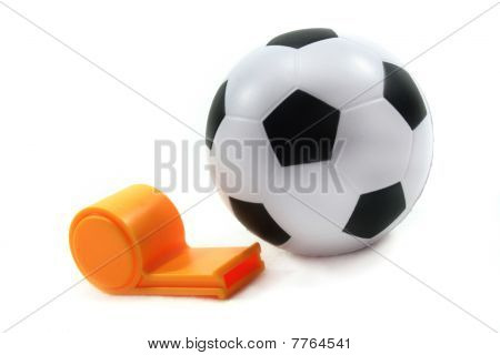 Football With Whistle