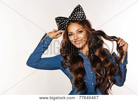 Girl With Bow