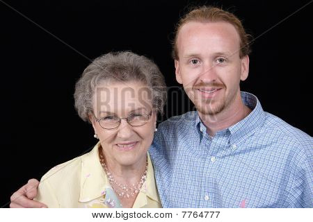 The Grandmother And Her Grandson