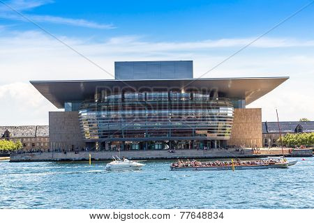 Opera House In Copenhagen