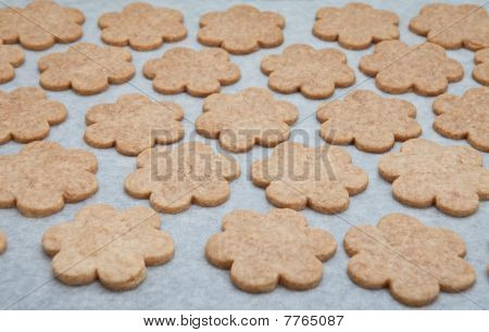 Baking Cookies At Home