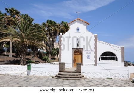 Church In Morro Jable, Fuerteventura