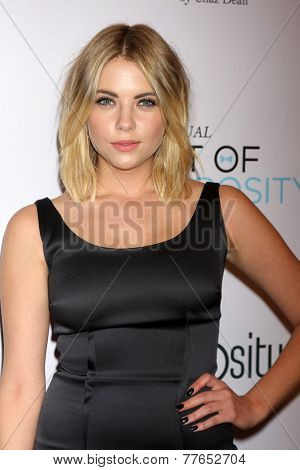 LOS ANGELES - DEC 5:  Ashley Benson at the 6th Annual Night Of Generosity at the Beverly Wilshire Hotel on December 5, 2014 in Beverly Hills, CA