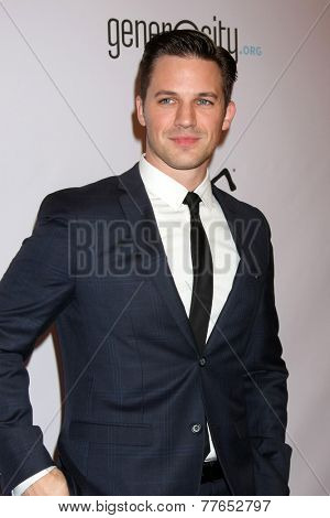 LOS ANGELES - DEC 5:  Matt Lanter at the 6th Annual Night Of Generosity at the Beverly Wilshire Hotel on December 5, 2014 in Beverly Hills, CA