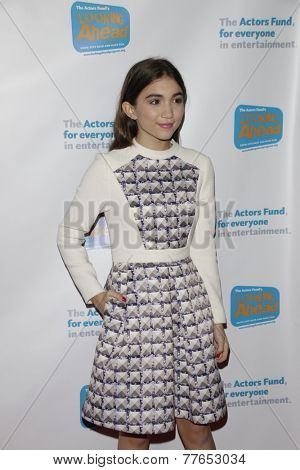 LOS ANGELES - DEC 4:  Rowan Blanchard at the The Actors Fund�¢??s Looking Ahead Awards at the Taglyan Complex on December 4, 2014 in Los Angeles, CA