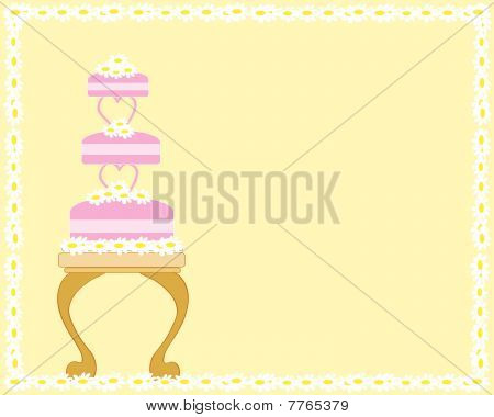 Wedding Cake And Table