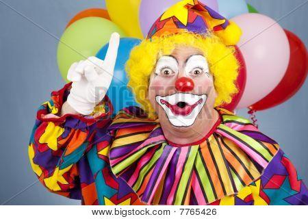 Clown With Idea