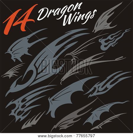 Wings of the dragon.