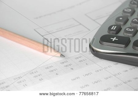 Calculator On Account Book