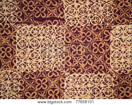 Batik cloth pattern