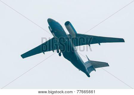 Flying AN-74 of Utair company