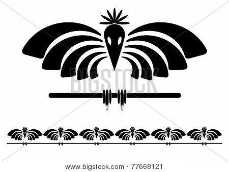 Stylized Raven