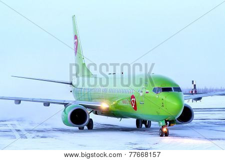 S7 Airlines Boeing 737