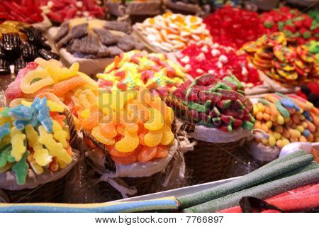 Various Selections Of Sweets