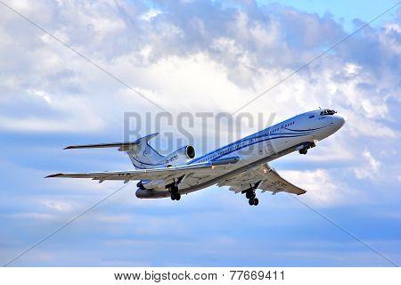 Gazprom Avia Tupolev Tu-154M