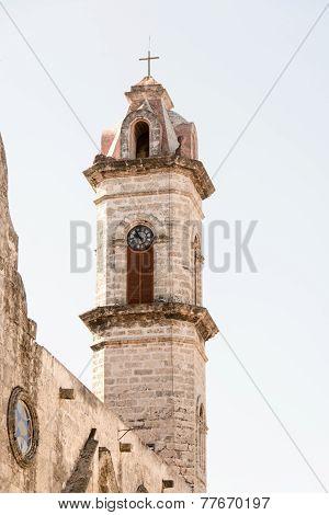 Bsilica Menor De San Francisco De Asis Bell Tower In Old Havana,cuba