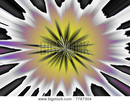 An Abstract Psychedelic 60's 70's Background