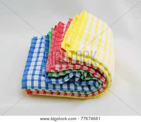 Colorful Of Kitchen Towels