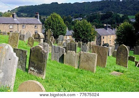 Church graveyard, Bakewell.