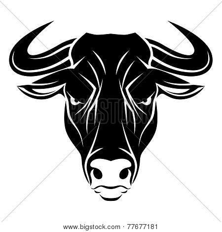 Angry Bull Head