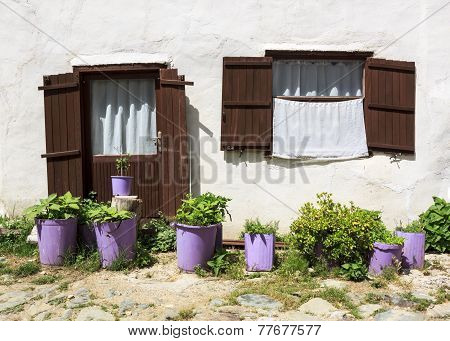 Door and window in Anatolian Village