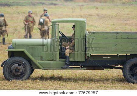 Retro Military Truck